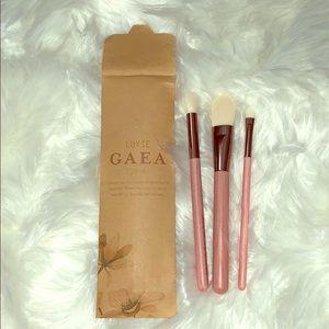 Luxie Gaea 3 Piece Brush Set